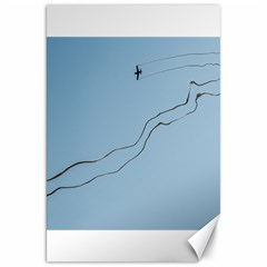 Airplane Airplanes Blue Sky Canvas 20  X 30