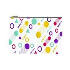 Colorful Geometric Graphic Cosmetic Bag (large)