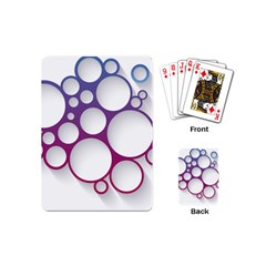 Circle Graphic Playing Cards (mini)