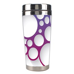 Circle Graphic Stainless Steel Travel Tumblers