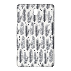 Christmas Pine Pattern Organic Hand Drawn Modern Black And White Samsung Galaxy Tab S (8 4 ) Hardshell Case  by snek