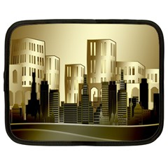 Architecture City House Netbook Case (large)