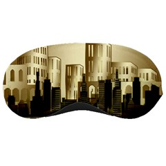 Architecture City House Sleeping Masks