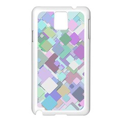 Colorful Background Multicolored Samsung Galaxy Note 3 N9005 Case (white)