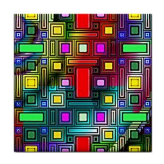 Art Rectangles Abstract Modern Art Tile Coasters