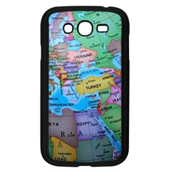 Globe World Map Maps Europe Samsung Galaxy Grand Duos I9082 Case (black)