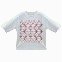 Pattern Christmas Pattern Red Stars Infant/toddler T Shirts