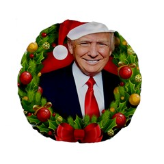 Trump Wraith Make Christmas Trump Only Sticker Trump Wrait Pattern13k Red Only Standard 15  Premium Round Cushions by snek