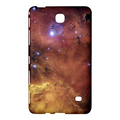 Comic Astronomy Sky With Stars Orange Brown And Yellow Samsung Galaxy Tab 4 (8 ) Hardshell Case  by snek