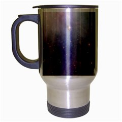 Orion Nebula Pastel Violet Purple Turquoise Blue Star Formation  Travel Mug (silver Gray) by snek
