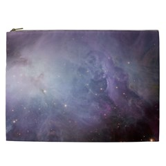 Orion Nebula Pastel Violet Purple Turquoise Blue Star Formation Cosmetic Bag (xxl) by snek