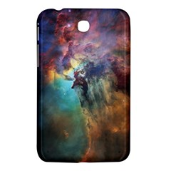 Lagoon Nebula Interstellar Cloud Pastel Pink, Turquoise And Yellow Stars Samsung Galaxy Tab 3 (7 ) P3200 Hardshell Case  by snek