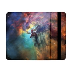 Lagoon Nebula Interstellar Cloud Pastel Pink, Turquoise And Yellow Stars Samsung Galaxy Tab Pro 8 4  Flip Case by snek