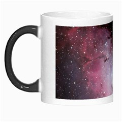 Eagle Nebula Wine Pink And Purple Pastel Stars Astronomy Morph Mugs by snek
