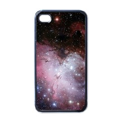 Eagle Nebula Wine Pink And Purple Pastel Stars Astronomy Apple Iphone 4 Case (black) by snek