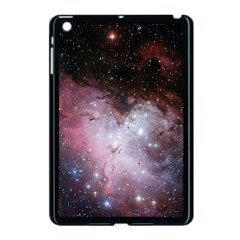 Eagle Nebula Wine Pink And Purple Pastel Stars Astronomy Apple Ipad Mini Case (black)