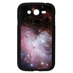 Eagle Nebula Wine Pink And Purple Pastel Stars Astronomy Samsung Galaxy Grand Duos I9082 Case (black)