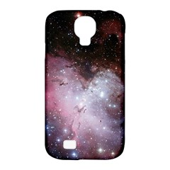 Eagle Nebula Wine Pink And Purple Pastel Stars Astronomy Samsung Galaxy S4 Classic Hardshell Case (pc+silicone)