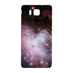 Eagle Nebula Wine Pink And Purple Pastel Stars Astronomy Samsung Galaxy Alpha Hardshell Back Case by snek