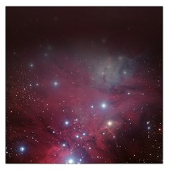 Christmas Tree Cluster Red Stars Nebula Constellation Astronomy Large Satin Scarf (square) by snek