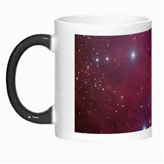 Christmas Tree Cluster Red Stars Nebula Constellation Astronomy Morph Mugs by snek