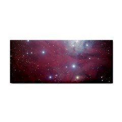 Christmas Tree Cluster Red Stars Nebula Constellation Astronomy Hand Towel