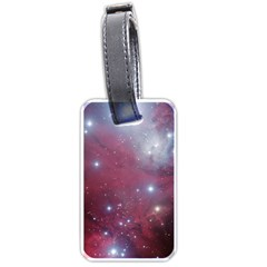 Christmas Tree Cluster Red Stars Nebula Constellation Astronomy Luggage Tags (one Side)