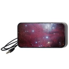 Christmas Tree Cluster Red Stars Nebula Constellation Astronomy Portable Speaker