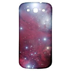 Christmas Tree Cluster Red Stars Nebula Constellation Astronomy Samsung Galaxy S3 S Iii Classic Hardshell Back Case