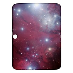 Christmas Tree Cluster Red Stars Nebula Constellation Astronomy Samsung Galaxy Tab 3 (10 1 ) P5200 Hardshell Case  by snek