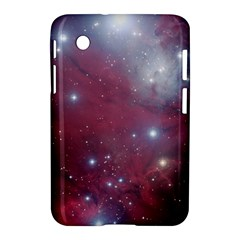 Christmas Tree Cluster Red Stars Nebula Constellation Astronomy Samsung Galaxy Tab 2 (7 ) P3100 Hardshell Case  by snek