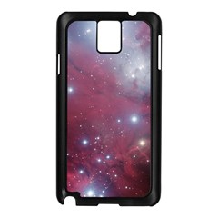 Christmas Tree Cluster Red Stars Nebula Constellation Astronomy Samsung Galaxy Note 3 N9005 Case (black) by genx