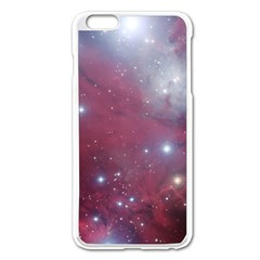 Christmas Tree Cluster Red Stars Nebula Constellation Astronomy Apple Iphone 6 Plus/6s Plus Enamel White Case