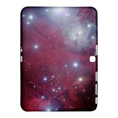 Christmas Tree Cluster Red Stars Nebula Constellation Astronomy Samsung Galaxy Tab 4 (10 1 ) Hardshell Case  by snek