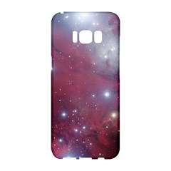 Christmas Tree Cluster Red Stars Nebula Constellation Astronomy Samsung Galaxy S8 Hardshell Case
