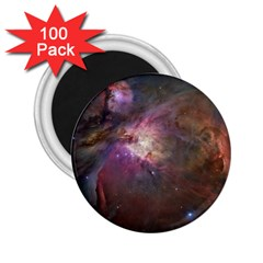 Orion Nebula Star Formation Orange Pink Brown Pastel Constellation Astronomy 2 25  Magnets (100 Pack)