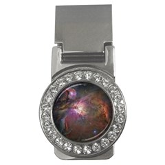 Orion Nebula Star Formation Orange Pink Brown Pastel Constellation Astronomy Money Clips (cz)  by snek