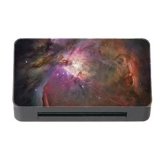Orion Nebula Star Formation Orange Pink Brown Pastel Constellation Astronomy Memory Card Reader With Cf