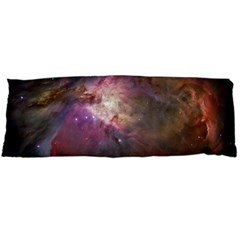 Orion Nebula Star Formation Orange Pink Brown Pastel Constellation Astronomy Body Pillow Case Dakimakura (two Sides)