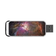Orion Nebula Star Formation Orange Pink Brown Pastel Constellation Astronomy Portable Usb Flash (one Side) by snek