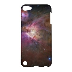 Orion Nebula Star Formation Orange Pink Brown Pastel Constellation Astronomy Apple Ipod Touch 5 Hardshell Case by snek