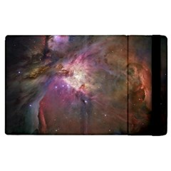 Orion Nebula Star Formation Orange Pink Brown Pastel Constellation Astronomy Apple Ipad 3/4 Flip Case