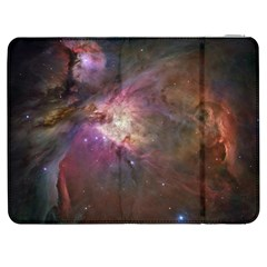 Orion Nebula Star Formation Orange Pink Brown Pastel Constellation Astronomy Samsung Galaxy Tab 7  P1000 Flip Case by snek