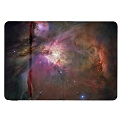 Orion Nebula Star Formation Orange Pink Brown Pastel Constellation Astronomy Samsung Galaxy Tab 8 9  P7300 Flip Case by snek