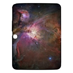 Orion Nebula Star Formation Orange Pink Brown Pastel Constellation Astronomy Samsung Galaxy Tab 3 (10 1 ) P5200 Hardshell Case  by snek