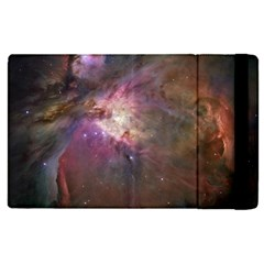Orion Nebula Star Formation Orange Pink Brown Pastel Constellation Astronomy Apple Ipad Pro 9 7   Flip Case by snek