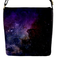 Carina Nebula Ngc 3372 The Grand Nebula Pink Purple And Blue With Shiny Stars Astronomy Removable Flap Cover (s) by snek