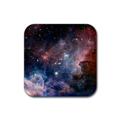 Carina Nebula Ngc 3372 The Grand Nebula Pink Purple And Blue With Shiny Stars Astronomy Rubber Coaster (square)