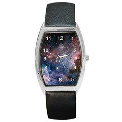 Carina Nebula Ngc 3372 The Grand Nebula Pink Purple And Blue With Shiny Stars Astronomy Barrel Style Metal Watch by snek