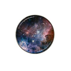 Carina Nebula Ngc 3372 The Grand Nebula Pink Purple And Blue With Shiny Stars Astronomy Hat Clip Ball Marker by snek